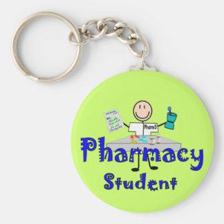 Regalos del estudiante de la farmacia llaveros personalizados