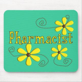 Regalos del farmacéutico, margaritas amarillas tapete de ratón