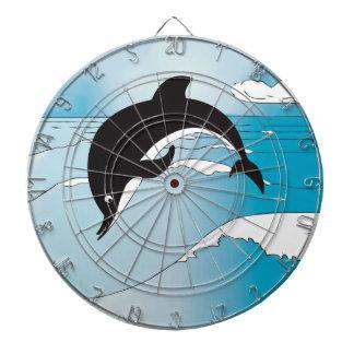 Regalos del fiesta del delfín tabla dardos