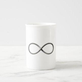 Regalos del friki del símbolo el | del infinito taza de porcelana