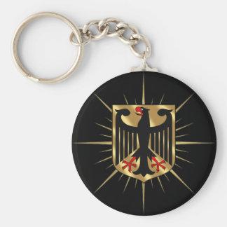 Regalos del fútbol de Alemania de la insignia de A Llaveros Personalizados