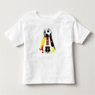 Regalos del fútbol de Deutschland Fusbball Playera De Niño