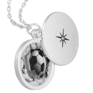 regalos del fútbol de los chicas pendientes