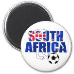 Regalos del fútbol de Suráfrica de la bandera de N Imán De Frigorifico