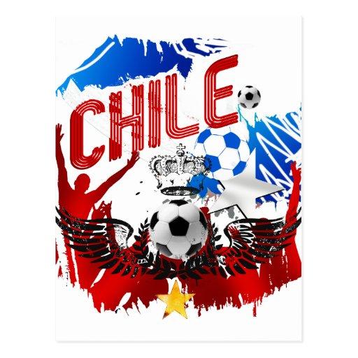 Regalos del futbol del fútbol del arte del grunge tarjeta postal
