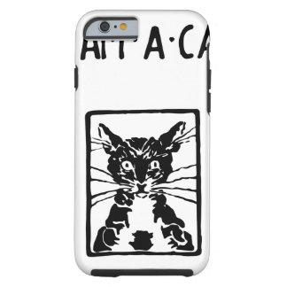 Regalos del gato negro funda para iPhone 6 tough