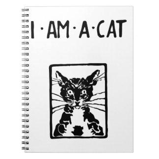 Regalos del gato negro note book