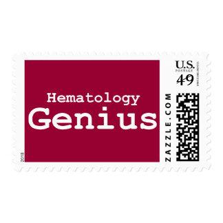Regalos del genio de la hematología sello