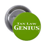 Regalos del genio de la legislación fiscal pins