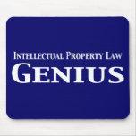 Regalos del genio de la ley de la propiedad intele tapetes de raton