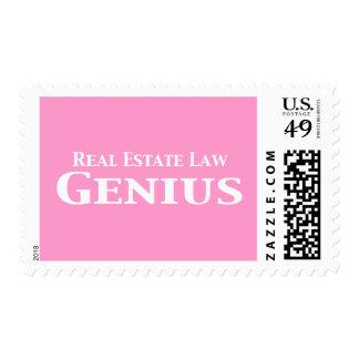 Regalos del genio de la ley de las propiedades sellos
