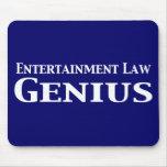 Regalos del genio de la ley del entretenimiento tapete de ratones