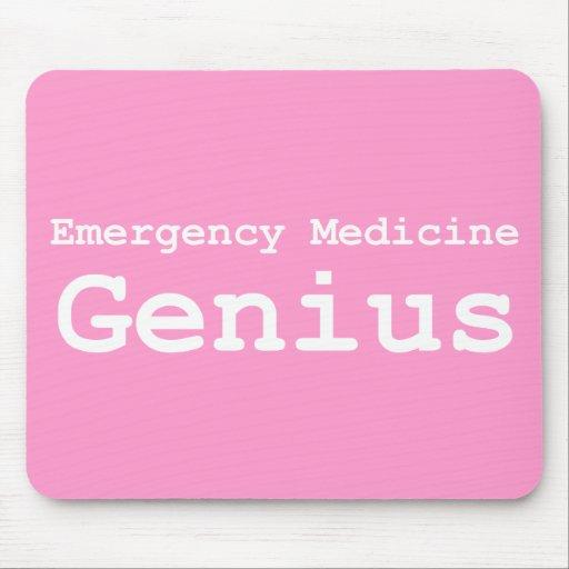 Regalos del genio de la medicina de la emergencia alfombrilla de ratón