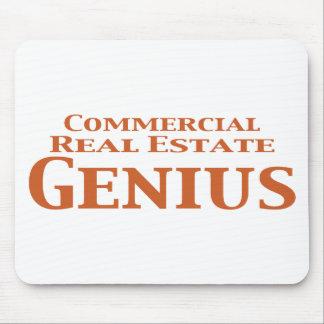 Regalos del genio de la propiedad inmobiliaria com mousepad