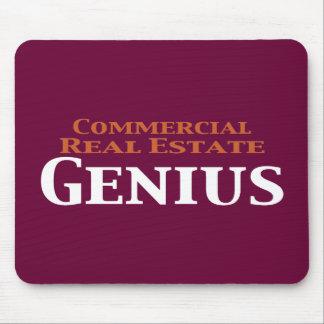 Regalos del genio de la propiedad inmobiliaria com mousepads
