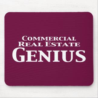 Regalos del genio de la propiedad inmobiliaria com tapete de ratones