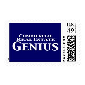 Regalos del genio de la propiedad inmobiliaria sello