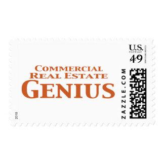 Regalos del genio de la propiedad inmobiliaria sellos