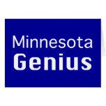 Regalos del genio de Minnesota Tarjetas