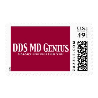 Regalos del genio del MD del DDS Franqueo