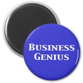 Regalos del genio del negocio iman de frigorífico