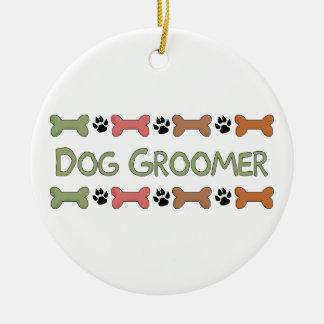 Regalos del Groomer del perro Ornamentos De Navidad