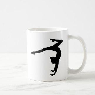 Regalos del Handstand del macho del gimnasta Taza