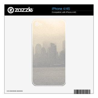 Regalos del horizonte NYC de New York City Skins Para iPhone 4