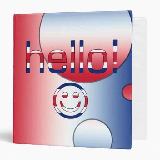 """Regalos del inglés británico: Hola + Cara Carpeta 1 1/2"""""""