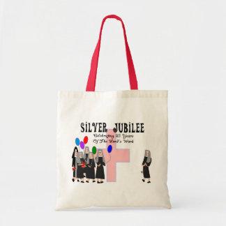 Regalos del jubileo de plata de las monjas bolsas