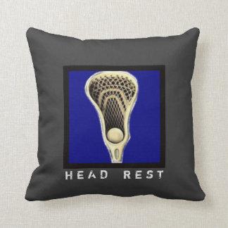 regalos del lacrosse cojín