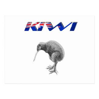 Regalos del logotipo de la bandera de Nueva Zeland Postales