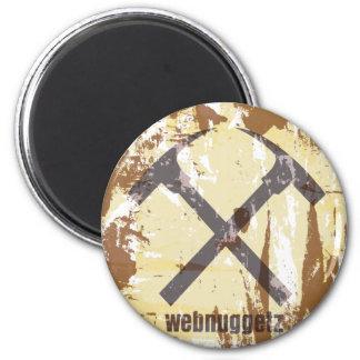 Regalos del logotipo del círculo de Webnuggetz Imán Para Frigorifico