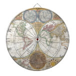 Regalos del mapa del mundo tablero dardos