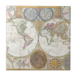Regalos del mapa del mundo teja