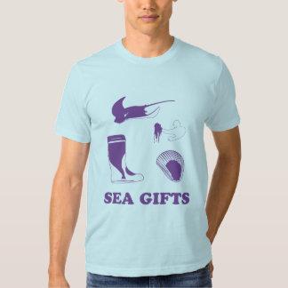 ¡Regalos del mar! Polera