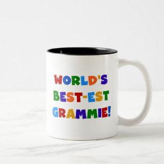 Regalos del Mejor-est Grammie del mundo brillante  Taza De Café