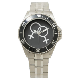Regalos del mismo sexo de los relojes del amor del