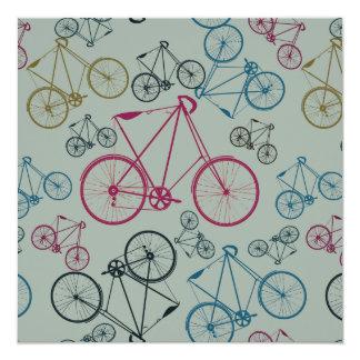 Regalos del modelo de la bicicleta del vintage invitación 13,3 cm x 13,3cm
