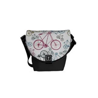 Regalos del modelo de la bicicleta del vintage par bolsa de mensajeria