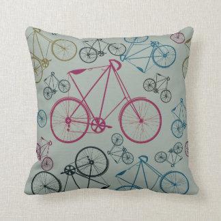 Regalos del modelo de la bicicleta del vintage par cojín
