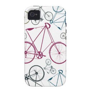 Regalos del modelo de la bicicleta del vintage par Case-Mate iPhone 4 carcasas