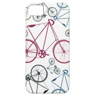 Regalos del modelo de la bicicleta del vintage par iPhone 5 carcasas