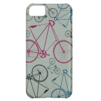Regalos del modelo de la bicicleta del vintage par funda para iPhone 5C