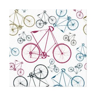 Regalos del modelo de la bicicleta del vintage par lona envuelta para galerías