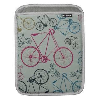 Regalos del modelo de la bicicleta del vintage par mangas de iPad