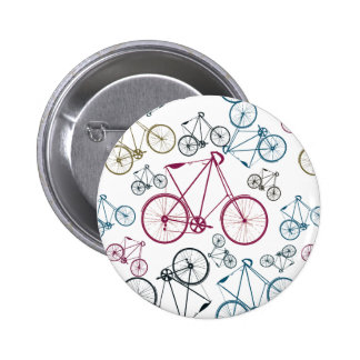 Regalos del modelo de la bicicleta del vintage par pin redondo de 2 pulgadas