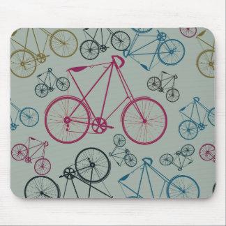 Regalos del modelo de la bicicleta del vintage par tapete de raton