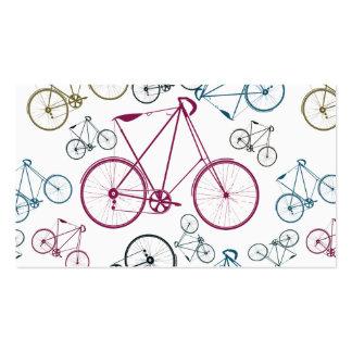Regalos del modelo de la bicicleta del vintage par tarjeta de visita