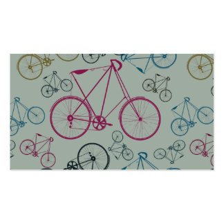 Regalos del modelo de la bicicleta del vintage par tarjetas de visita